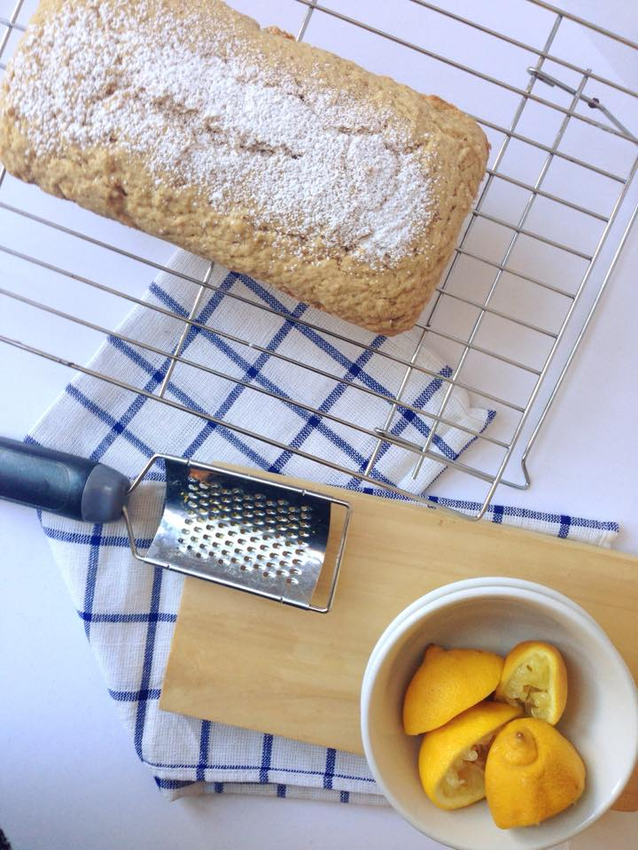 Vegan White Lemon Loaf Cake | Whisk and Shout