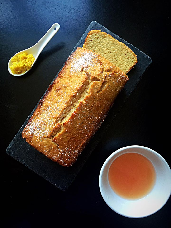 Lighter Grapefruit Yogurt Cake | Whisk and Shout