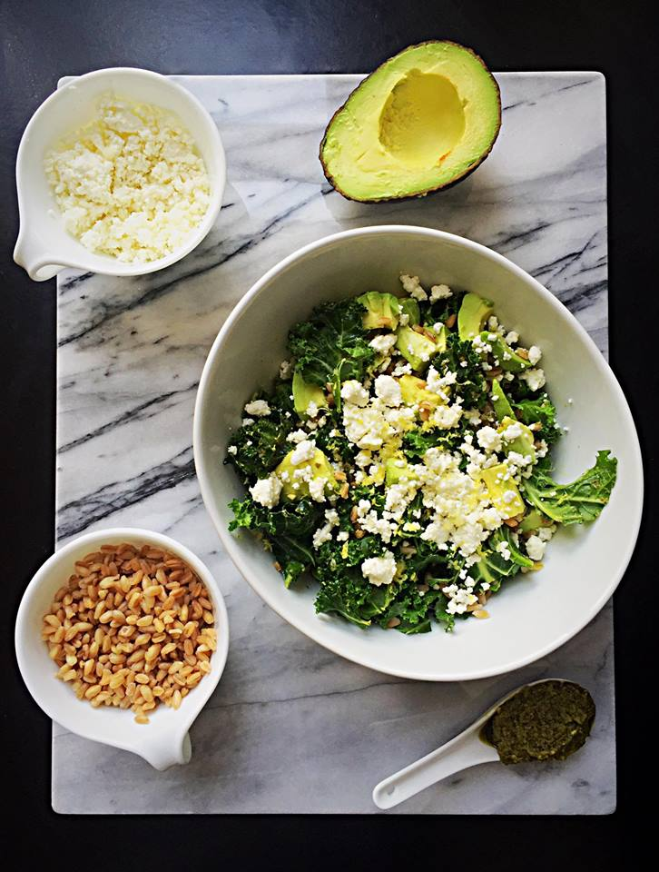 Farro and Kale Power Bowl | Whisk and Shout
