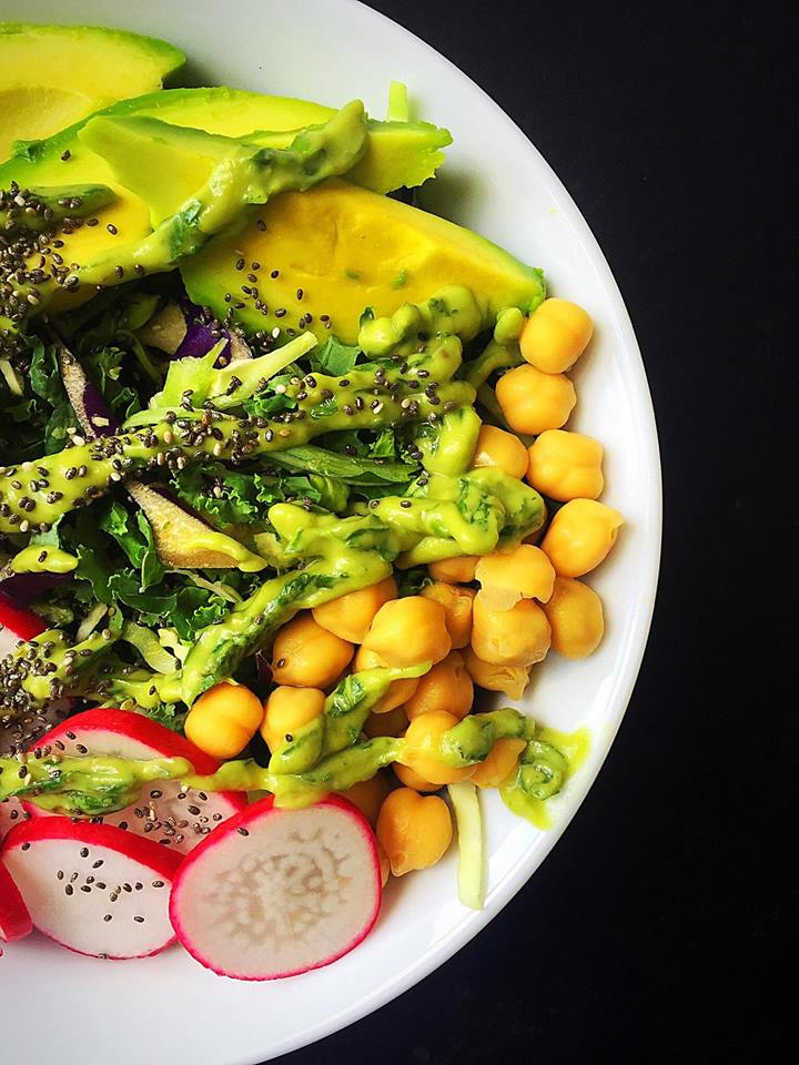 {Vegan + GF} Crunchy Protein-Packed Summer Salad | Whisk and Shout