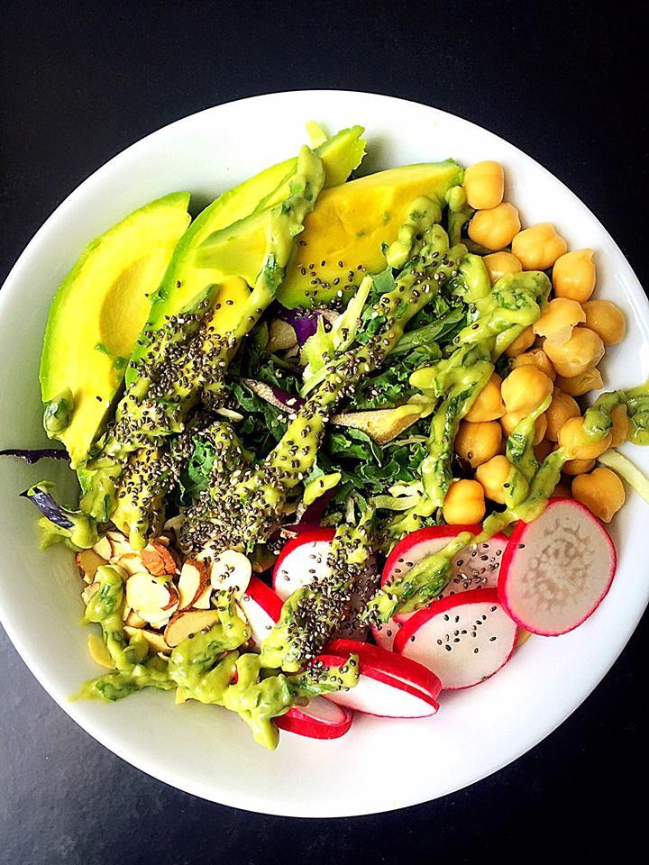 Vegan Gf Crunchy Protein Packed Summer Salad Whisk Shout